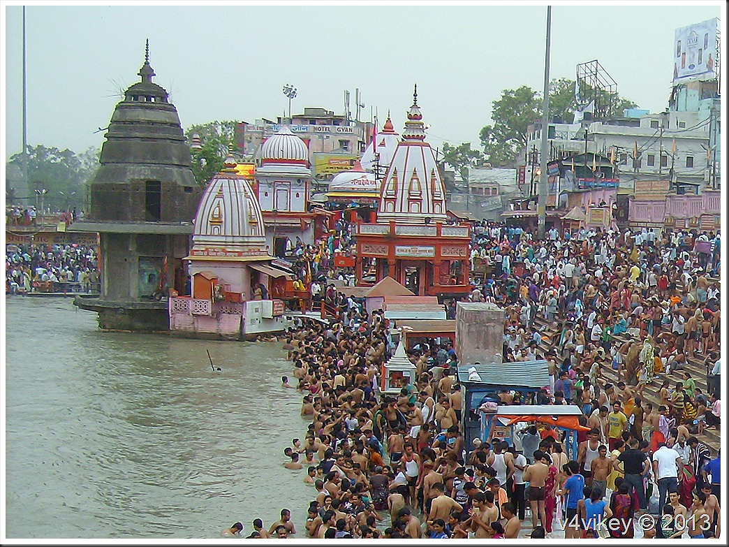 Holy Ganga River at Haridwar