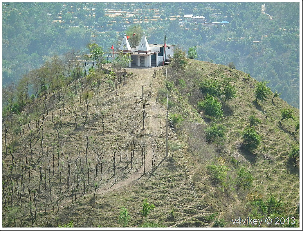 Temple on the top of Hill