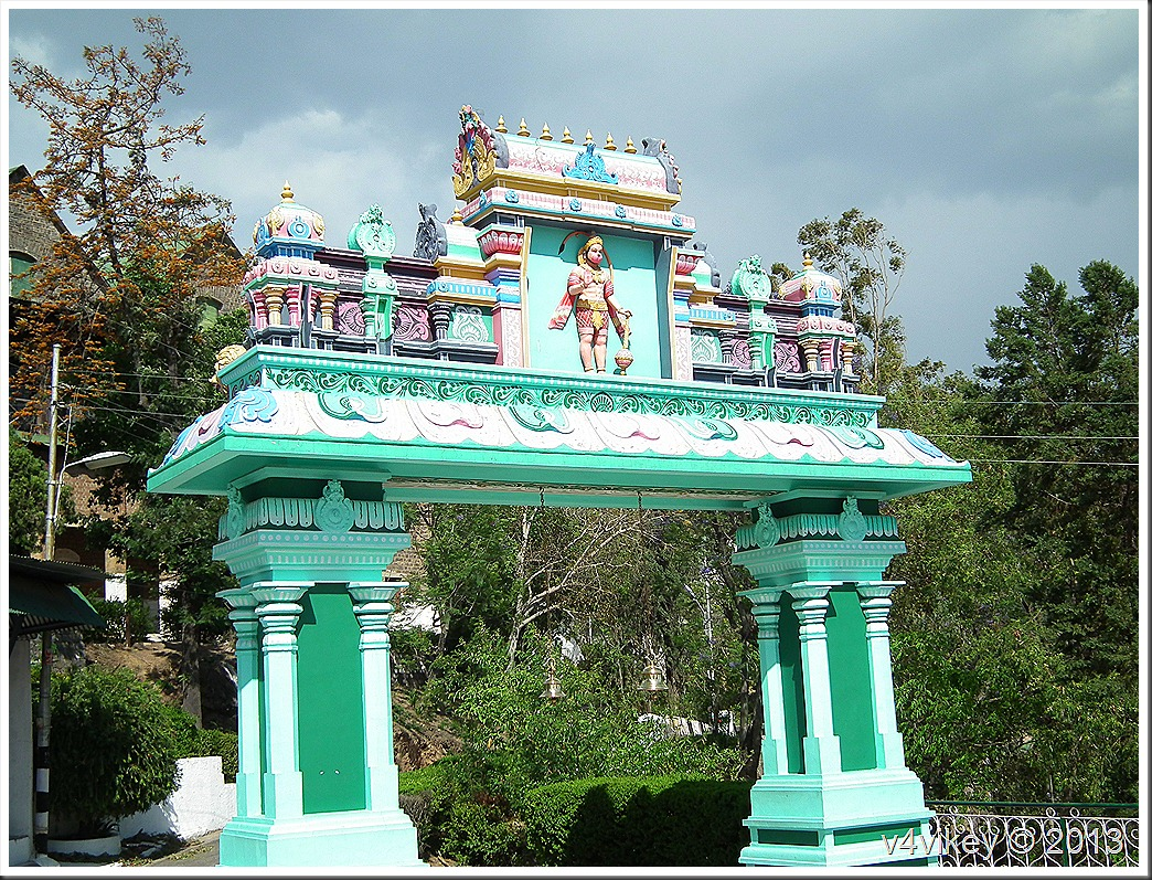 Beautiful Gate of a Temple
