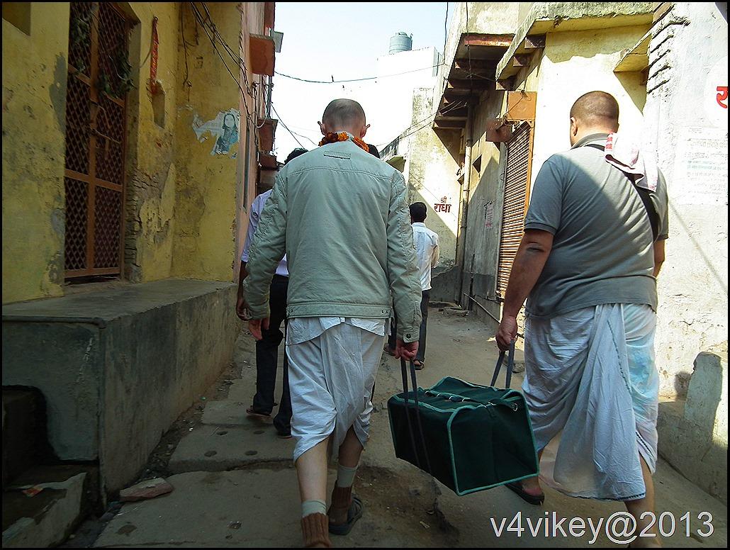 Streets of Vrindavan