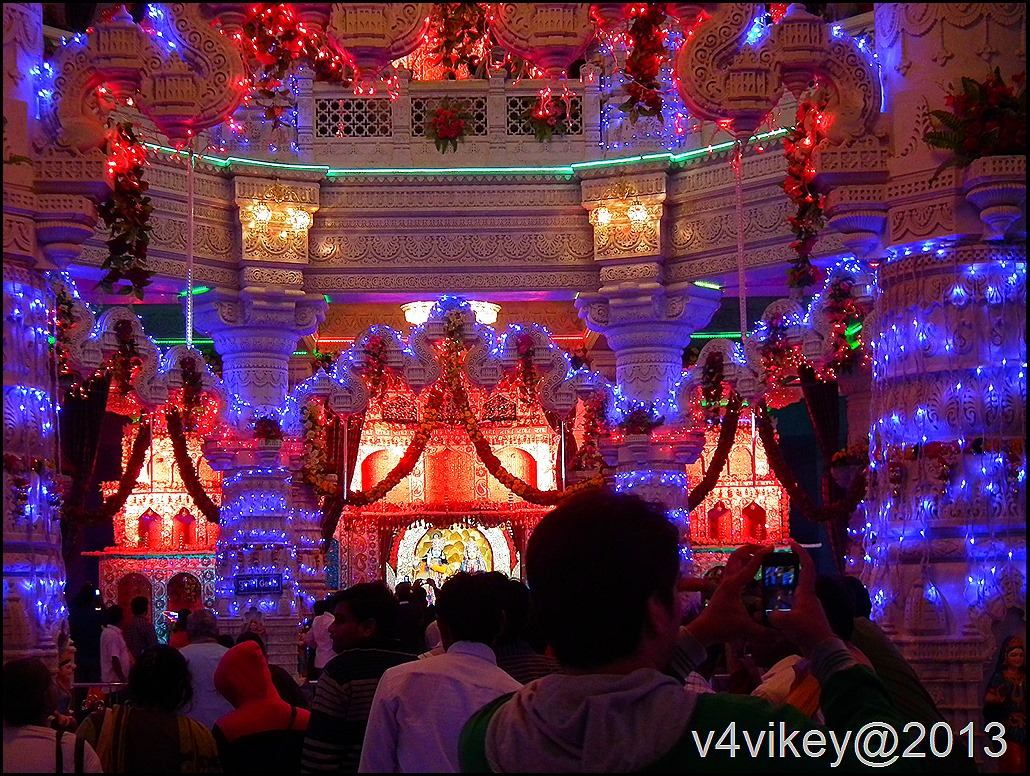 Prem mandir – Inside View