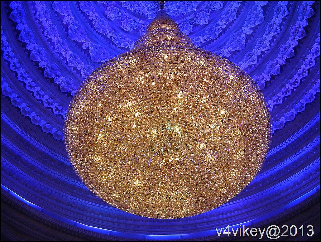 Internal Decoration of Prem mandir