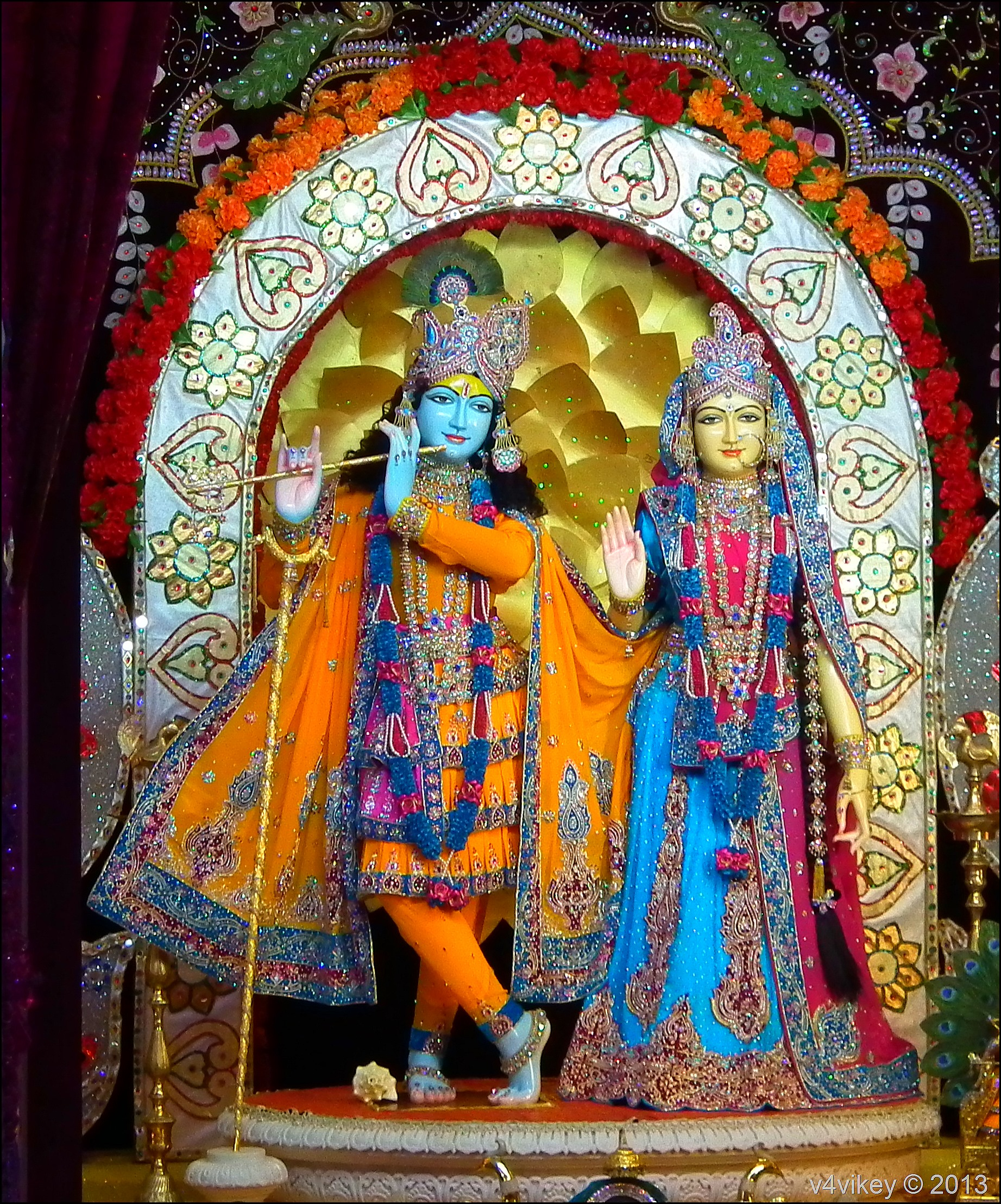 Lord Radha Krishna –Prem Mandir