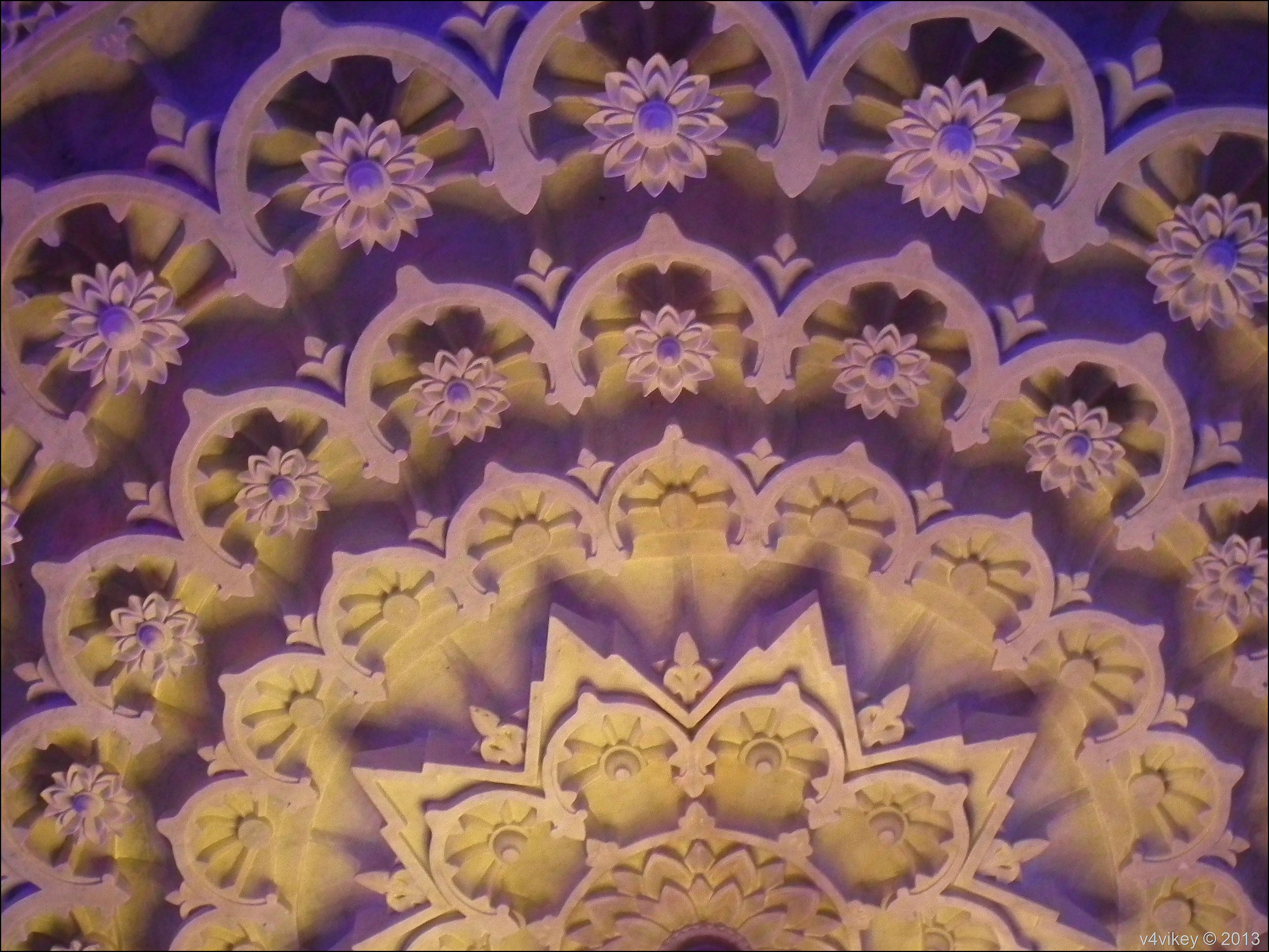 Marble Work In Prem Mandir