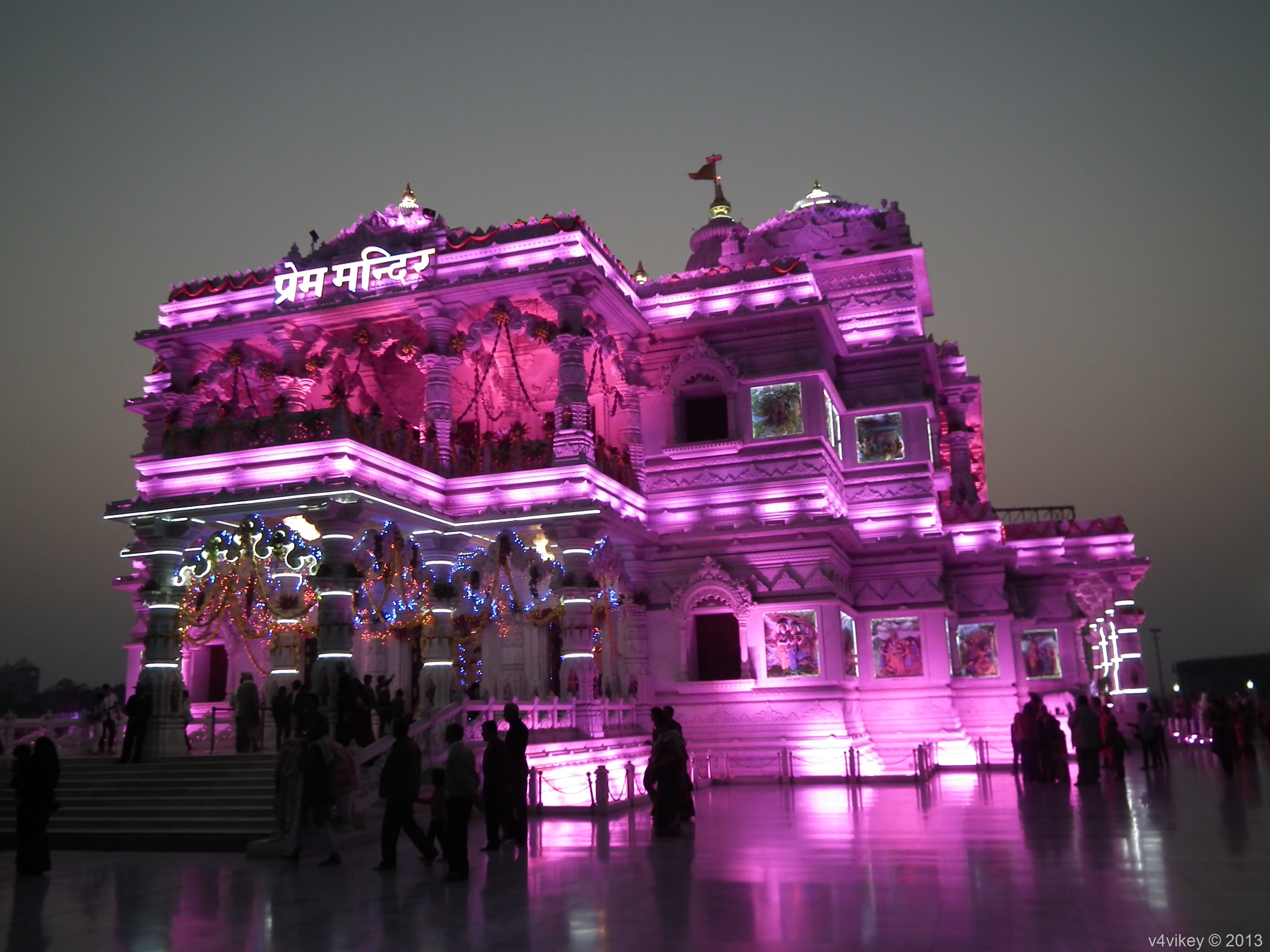 Radha Krishna Temples of Vrindavan
