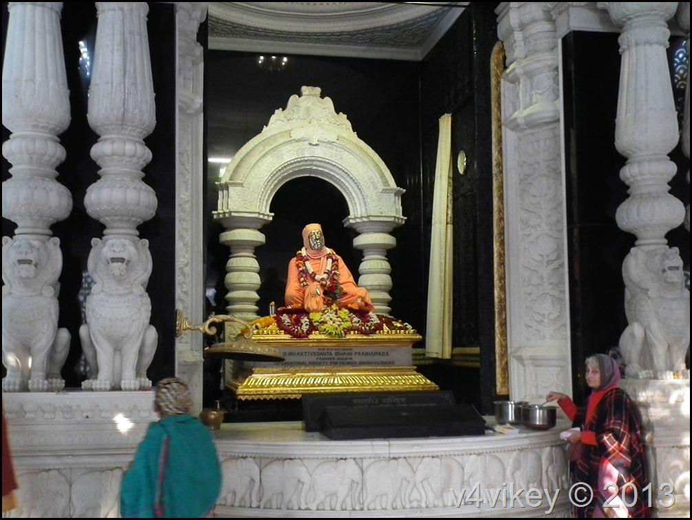 Swami Prabhupada Statue
