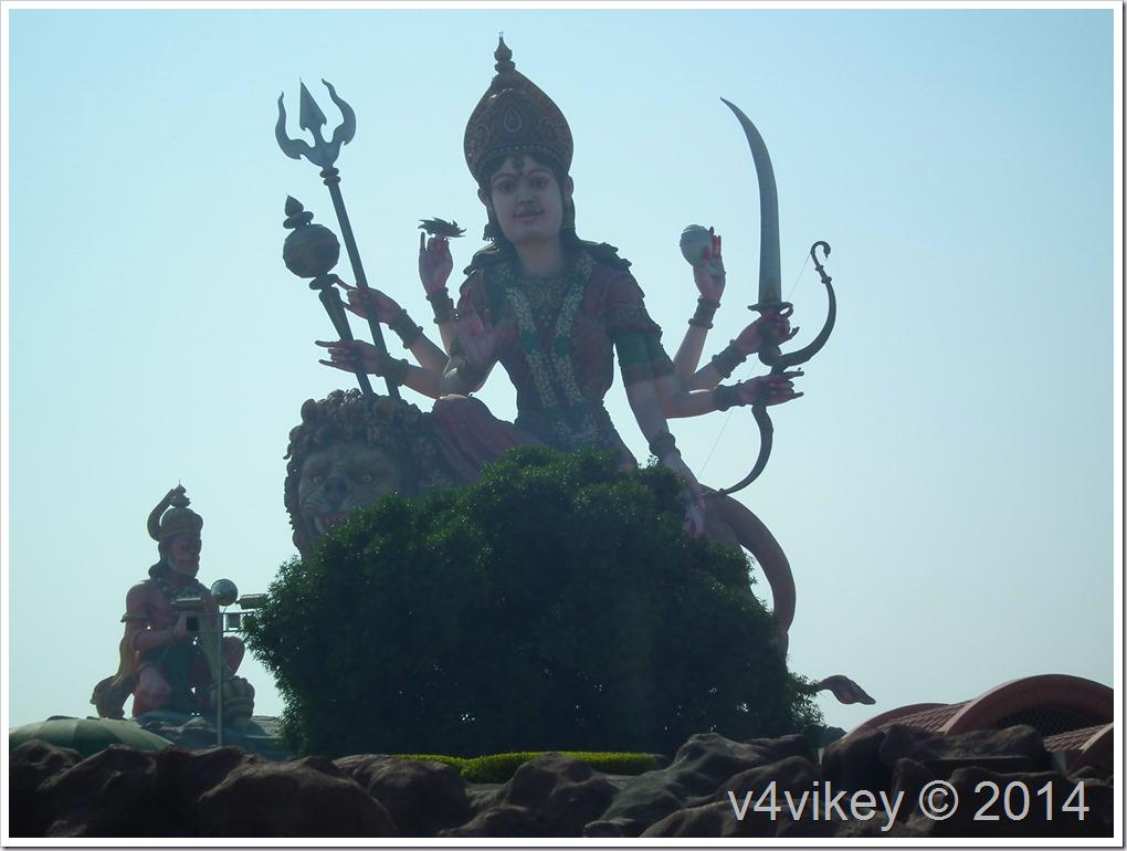 Statue of Mata Vaishno Devi Vrindavan