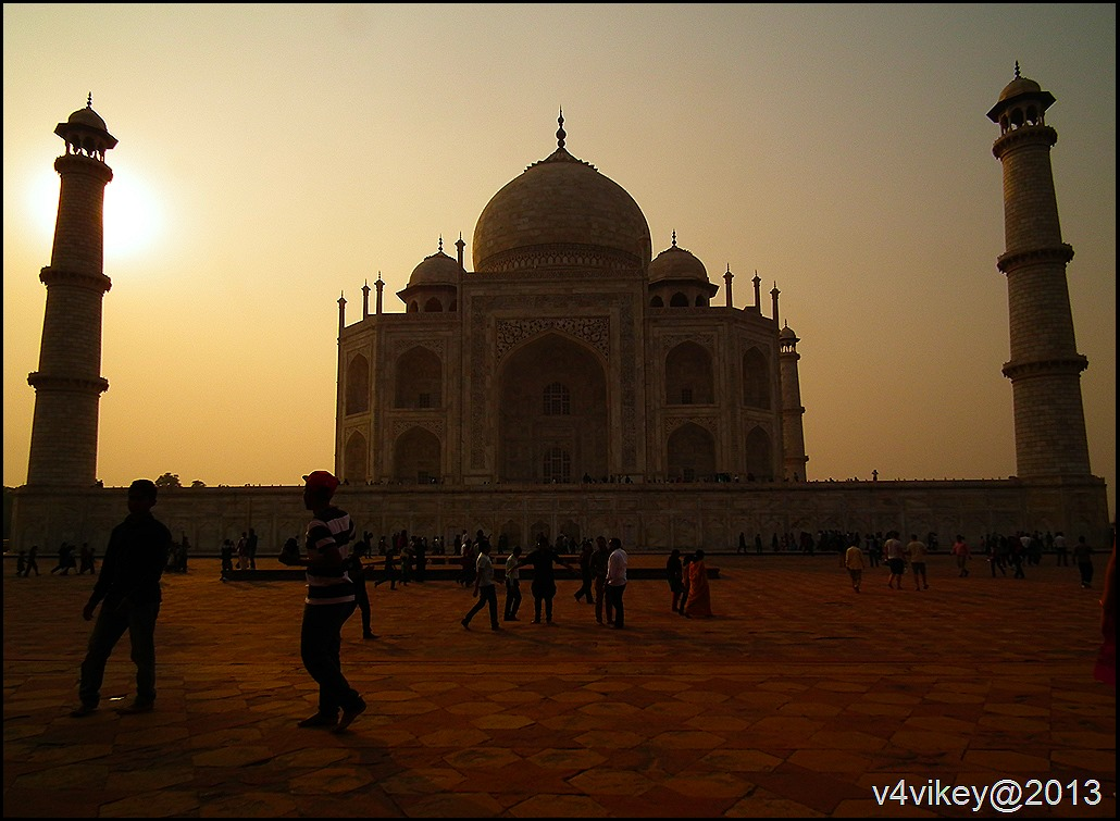 Tajmahal Sunset view