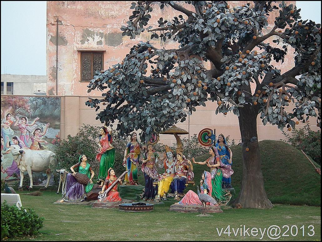 Radha Krishna Sculptures - Prem Mandir