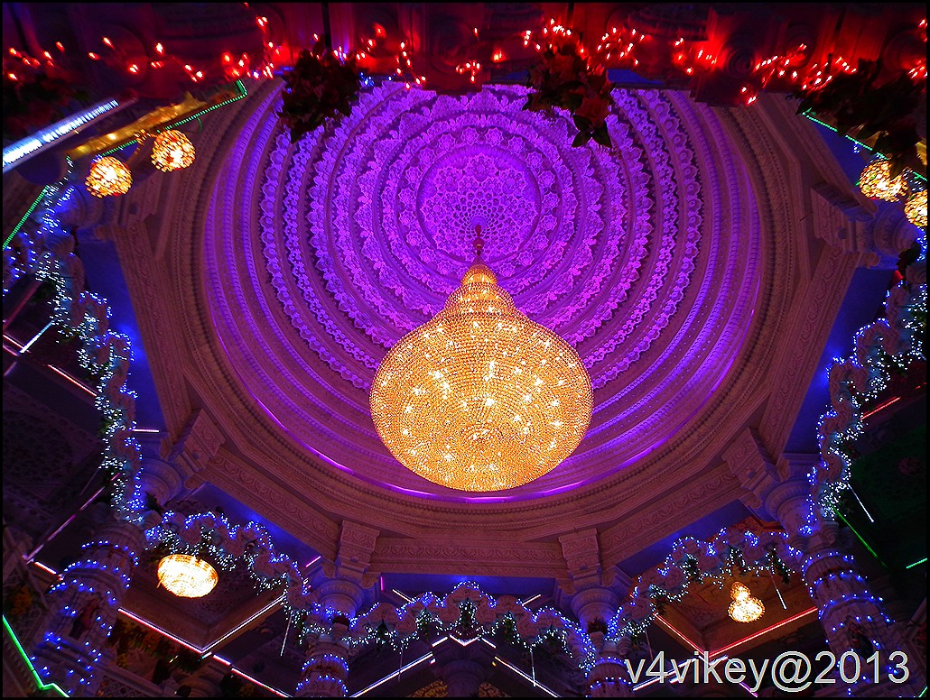 Internal Decoration of Prem mandir